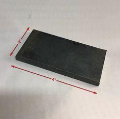 "1 1//2 X 3 X 12/"" L THICK Steel Flat Bar Blacksmith Bench Plate Welding Machining"