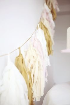 www.sweetstyleblog.com.au Garlands, Pink And Gold, Parties, Party Ideas, Entertaining, Colour, Shower, Wedding, Beautiful