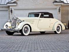 1936 Packard Twelve Model 1407 Convertible Coupe