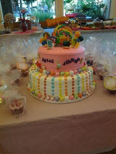 Candy Shoppe Cake and Cupcakes