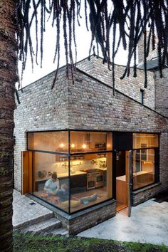 Contemporary brick addition in Ranelagh by NOJI Architects