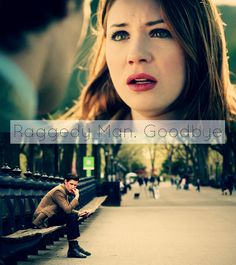 """""""Didn't want a life without you / but here I am living one"""" - Brooke Fraser [Doctor Who: Amy Pond, Eleventh Doctor]"""