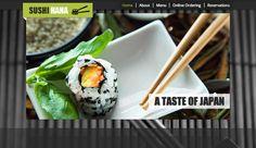 Sushi Restaurant Wix Website Template & Theme
