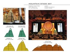 mountain stage design - Google Search