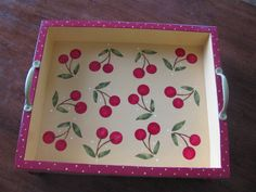 Hey, I found this really awesome Etsy listing at https://www.etsy.com/listing/97287821/serving-tray-cherry-tray