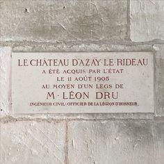 Chateau d'Azay le Rideau, Loire valley, France