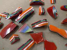 How to create puddle pieces. Fused glass puddles pieces!