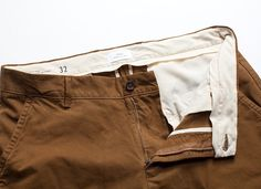 Simple, well-made and nicely tailored — the Standard Issue Utility Chino from Apolis. So many great offerings from this store!