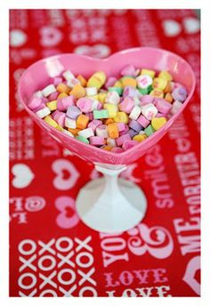 Valentine Candy Dishes