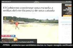 Vaya, Vaya! El Gobierno Construye Una Escuela A Orillas Del Río Ozama