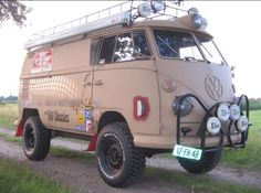 Monster VW bus # I think it ate my beetle.... ♠ ♠... X Bros Apparel Vintage Motor T-shirts, VW Beetle & Bus T-shirts, Great price