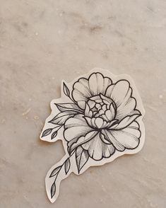 Tattoo Photo by Polina Matveeva - Tattoo flower sketch flower tattoos - small flower tattoo Delicate Flower Tattoo, Small Flower Tattoos, Flower Tattoo Arm, Flower Tattoo Shoulder, Flower Tattoo Designs, Small Tattoos, Tattoo Flowers, Shoulder Tattoos, Carnation Flower Tattoo