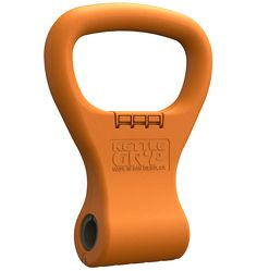 Kettle Gryp is the best portable kettlebell system available. Economical and adaptable, Kettle Gryp is easy to travel with and won't take a bite out of your wallet. Kettle Gryp - Orange