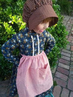 Little House On The Prairie Costume And Bonnet Tutorial Costumes