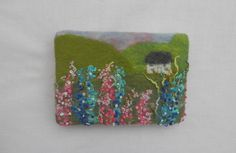 A personal favourite from my Etsy shop https://www.etsy.com/uk/listing/535579556/felted-picture-embroidered-picture-felt