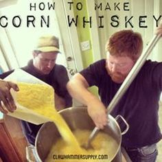 Homebrewing Corn Whiskey Moonshine - Homesteading - The Homestead Survival .Com