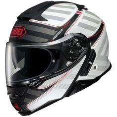 Κράνος ανοιγώμενο (flip up) Shoei Neotec II Splicer Shoei Motorcycle Helmets, Shoei Helmets, Flip Up Helmet, Wind Tunnel, One With Nature, Parasol, Red S, Me Too Shoes, Motorbikes