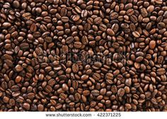 roasted coffee beans, background texture
