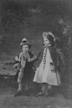 Rudolf and Gisela, Venice, 1861/1862