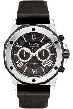 Grand Jewelers authorized retailer: Marine Star collection Bulova #98B127