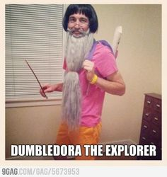 Funny pictures about Brilliant Halloween Costume Idea. Oh, and cool pics about Brilliant Halloween Costume Idea. Also, Brilliant Halloween Costume Idea. Stupid Funny, Funny Jokes, Funny Stuff, Seriously Funny, That's Hilarious, It's Funny, Dora Funny, Hilarious Animals, 9gag Funny