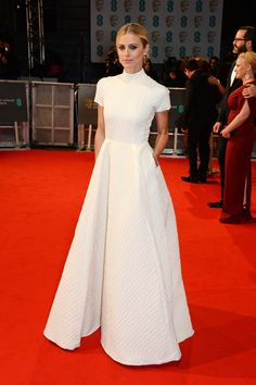 Alexa Chung and Suki Waterhouse have worn similar dresses before, but Emilia Wickstead kills us every time because her designs are twirly and ladylike and they have pockets for keeping secret fruit snacks.   - MarieClaire.com