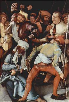 The Mocking of Christ - Matthias Grünewald