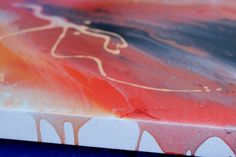 Abstract Art Original on Canvas ORIGINAL by by MomentsByCharlie