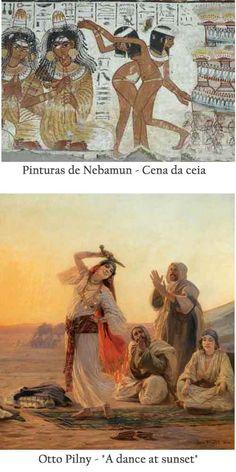 Pinturas de Nebamun e Ott Piny