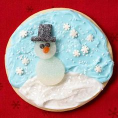 Gumdrop decorations - Christmas cookies The key construction with how we live is without a Christmas Cookie Exchange, Christmas Sweets, Christmas Goodies, Christmas Fun, Holiday Fun, Christmas Decorations, Xmas Desserts, Dessert Recipes, Cut Out Cookies