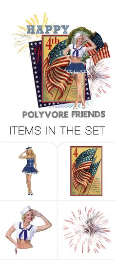 """Happy 4th of July Polyvore Friends!!"" by kyckastra ❤ liked on Polyvore featuring art"