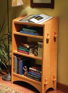 Mission Bookstand - Popular Woodworking Magazine