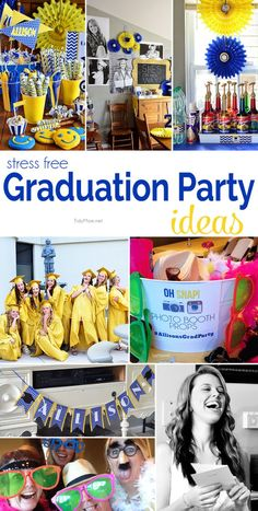 A graduation party doesn't have to be overwhelming. There are some simple ways to celebrate and have a stress free graduation party that will go down in history as one of the greatest! visit TidyMom.net #backtocollege @Target
