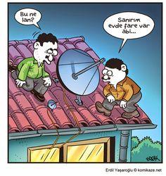 Karikaturiks | Gülümse biraz.!: Galiba Fare Var :)