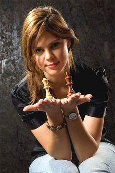 Chess Woman Grand Master   Anastasiya Karlovich