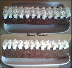 Roláda s pařížskou šlehačkou Cream Cake, Om, Cakes, Desserts, Custard Cake, Tailgate Desserts, Cream Pie, Deserts, Cake Makers