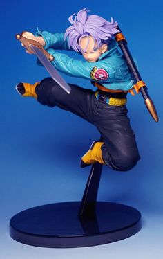 Dragon Ball Z SCultures Banpresto Figure Colosseum 4 Vol. 5 TRUNKS