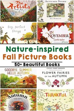Check out 50+ nature-inspired fall picture books for kids right here in one spot! You will find books about pumpkins, apples, spiders, bats and much more. Grab your pumpkin spiced latte and make… More