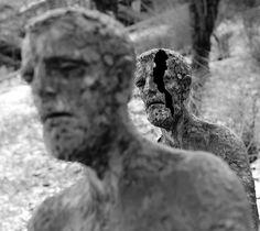 Olbram Zoubek sculpture captured during a vist in 2003 Communism, Prague, Memories, Sculpture, Eyes, Fine Art Paintings, Memoirs, Souvenirs, Sculptures