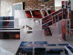 En el diario de mi vida: primera maqueta en la carrera de arquitectura ♥