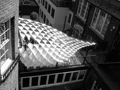 AA Membrane Canopy 2007 – Emergent Technologies and Design Programme 0607 @ Architectural Association, London