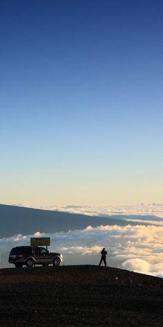 Closer to God in every way...Mauna Kea on the Big Island of Hawaii...amazing