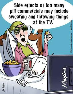 Maxine on side effects