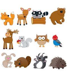 Woodland Animal Talkers Bulletin Board Set - Carson Dellosa Publishing Education Supplies