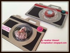 Camera card with treat cups
