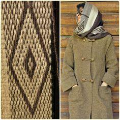 Bufanda de alpaca echarpe chal unisex moda de por TelaresNUEVOMUNDO Inkle Weaving, Textiles, Textile Art, Lana, Unisex, High Neck Dress, Culture, Embroidery, Sweaters