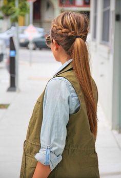 7 Hip Hairstyles for the Beach ... → Hair