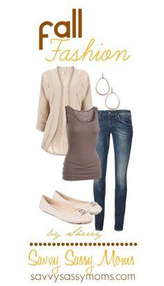 Casual Chic Fall Fashion | Savvy Sassy Moms