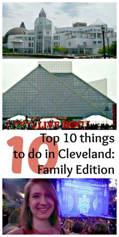 Top 10 things to do in Cleveland, Ohio: Family fun on Lake Erie. #travel