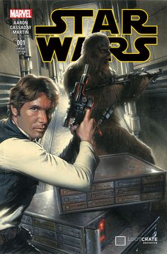 First details on Loot Crate's exclusive Star Wars #1 Gabriele Dell'Otto cover variant!
